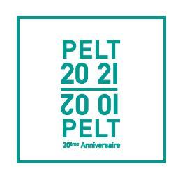 Logo pelt 20 ans 2022